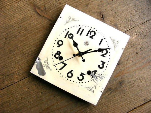画像3: 昭和20年代・オキュパイド・ジャパン・愛知時計・アンティーク・振り子時計・文字盤・掛時計