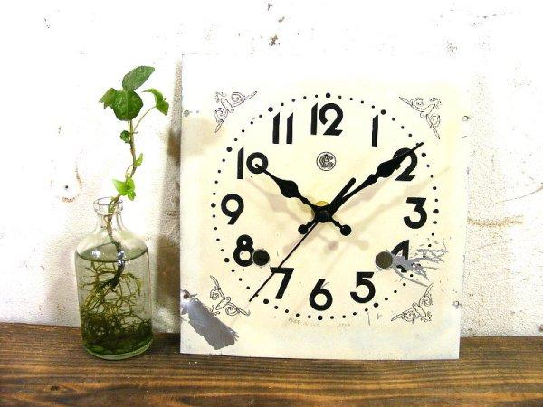 画像2: 昭和20年代・オキュパイド・ジャパン・愛知時計・アンティーク・振り子時計・文字盤・掛時計