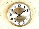 昭和30年代頃・セイコーソノーラ・アンティーク・振り子時計・文字盤・掛時計・白色(電池式・スイープ・クォーツ)