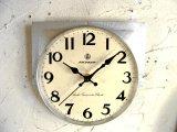 昭和40年代頃・愛知時計・アイチロン・アンティーク・振り子時計・文字盤・掛時計(電池式・スイープ・クォーツ)