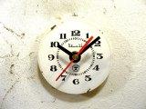 1960年代頃・ロシア・Bume3b・アンティーククロック・文字盤・掛時計・赤秒針・電池式・スイープ・クォーツ