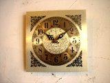 1960年代頃のアメリカの無名・文字盤時計・角型・テレフォン・ダイアル
