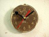 1950年代頃・アメリカ・ウェストクロックス・ベビーベン・アンティーク・クロックの文字盤の掛時計(丸型)赤秒針