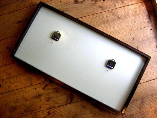 2: (株)広島精機製作所・時間時刻説明器・黒板(電池式・クォーツ改造)