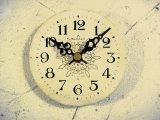 1960年代頃・ロシア・Rumaph・アンティーク・クロック・文字盤・掛時計(丸型・白色)