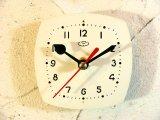 1960年代頃・ロシア・時計マーク・アンティーク・クロック・文字盤・掛時計・電池式・スイープ・クォーツ