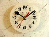 1960年代頃・ロシア・Bume3b・アンティーク・クロック・文字盤・掛時計・電池式・スイープ・クォーツ