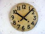 大正頃・アンティーク・振り子時計・文字盤・掛け時計・オール数字(電池式・クォーツ)