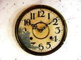 大正頃・林時計・トレードマークH・アンティーク・振り子時計・文字盤・掛け時計・枠付(電池式・クォーツ)