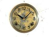 昭和初期頃・無名・アンティーク・振り子時計・文字盤・掛け時計(電池式・クォーツ)