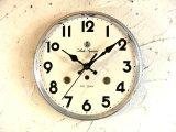 昭和中期頃・愛知時計・アイチ・スーペリア・アンティーク振り子時計・文字盤・掛け時計(電池式・スイープ・クォーツ)