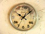 昭和中期頃・林時計・アンティーク・振り子時計・文字盤・掛け時計(電池式・スイープ・クォーツ)