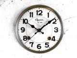 昭和初期頃・流水舎・アンティーク振り子時計・文字盤・掛け時計(電池式・スイープ・クォーツ)