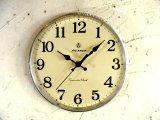 昭和中期頃・アイチロン・アンティーク振り子時計・文字盤・掛け時計(電池式・スイープ・クォーツ)