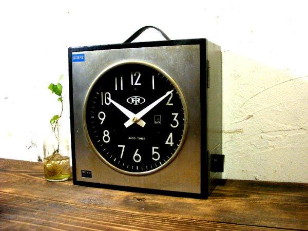 画像2: 1960年代・北辰映電株式会社・リジョウ・RH-320・親時計(電池式・クォーツ改造)