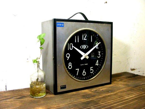 画像3: 1960年代・北辰映電株式会社・リジョウ・RH-320・親時計(電池式・クォーツ改造)