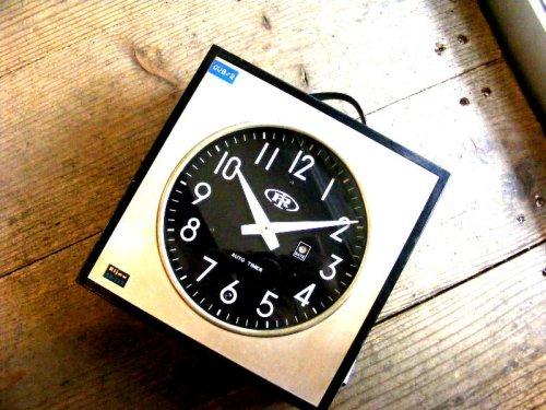 1: 1960年代・北辰映電株式会社・リジョウ・RH-320・親時計(電池式・クォーツ改造)