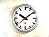 1950年代・ドイツ・TN(Telefonbau & Normalzeit)・インダストリアル・クロック・鉄道時計(電池式・スイープ・クォーツ改造)