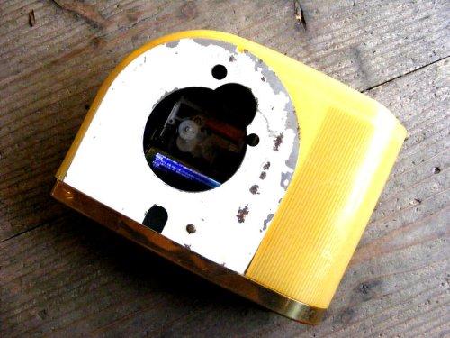 2: 1950年代・アメリカ・ウエストクロックス・ムーンビーム・デスククロック(電池式・スイープ・クォーツ改造)