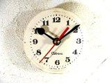 1960年代頃・ロシア・Cebaru・アンティーク・クロック・文字盤・掛時計(丸型・白)