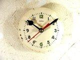 1960年代頃・ロシア・ROSTOV・アンティーク・クロック・文字盤・掛時計(丸型・白)