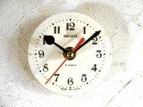 1960年代頃・ロシア・SEVANI・アンティーククロック・文字盤・掛時計・電池式・スイープ・クォーツ
