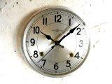 昭和20年代頃・精工舎・アンティーク・振り子時計・文字盤・掛時計・銀(電池式・スイープ・クォーツ)