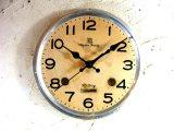 昭和40年代頃・リズム・ファミリー・アンティーク・振り子時計・文字盤・掛時計(電池式・スイープ・クォーツ)