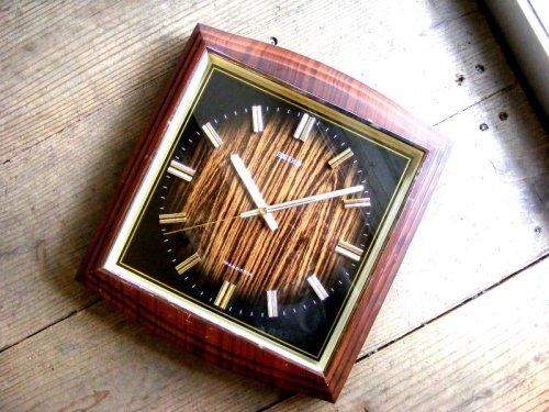 1: 1970年代・セイコー・トランジスター・振動子時計・RA743・タイガーアイ文字盤(電池式・スイープ・クォーツ改造)
