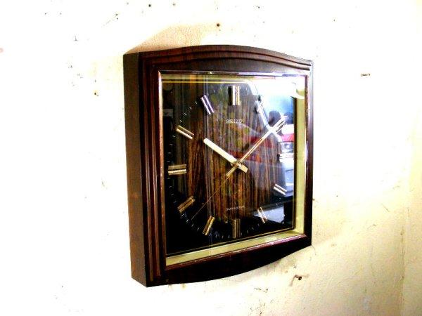 画像3: 1970年代・セイコー・トランジスター・振動子時計・RA743・タイガーアイ文字盤(電池式・スイープ・クォーツ改造)