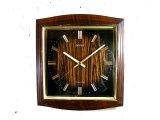 1970年代・セイコー・トランジスター・振動子時計・RA743・タイガーアイ文字盤(電池式・スイープ・クォーツ改造)