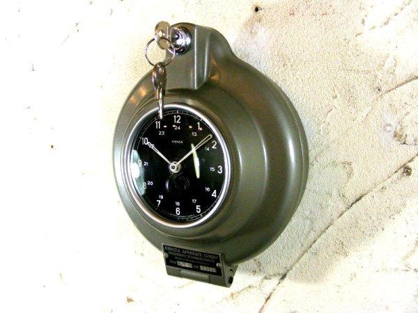 画像4: 1950年代・西ドイツ・キンツレー・インダストリアル・タコグラフ・クロック・デッドストック(LED・セコンドフラッシュ付・クォーツ改造)