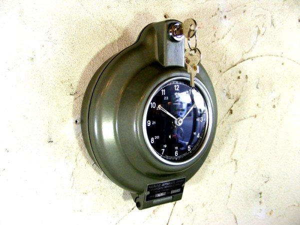 画像5: 1950年代・西ドイツ・キンツレー・インダストリアル・タコグラフ・クロック・デッドストック(LED・セコンドフラッシュ付・クォーツ改造)