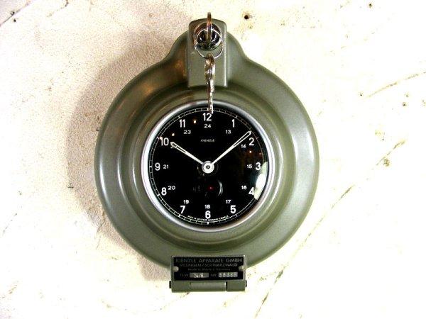 画像3: 1950年代・西ドイツ・キンツレー・インダストリアル・タコグラフ・クロック・デッドストック(LED・セコンドフラッシュ付・クォーツ改造)