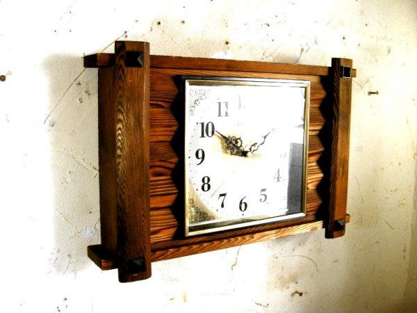 画像3: 1970年代・セイコー・トランジスター・振動子時計・RA7711・組み木・角型(電池式・スイープ・クォーツ改造)