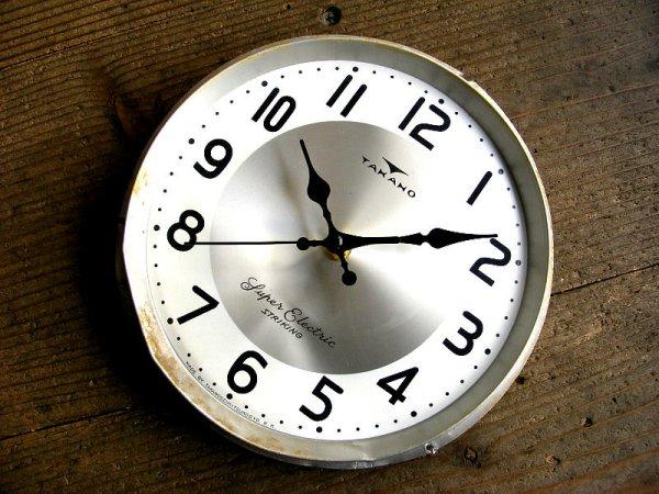 画像3: 昭和30年代頃・セイコーソノーラ・アンティーク・振り子時計・文字盤・掛時計・白色(電池式・スイープ・クォーツ)