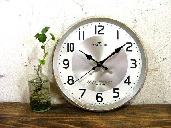 画像2: 昭和30年代頃・セイコーソノーラ・アンティーク・振り子時計・文字盤・掛時計・白色(電池式・スイープ・クォーツ)