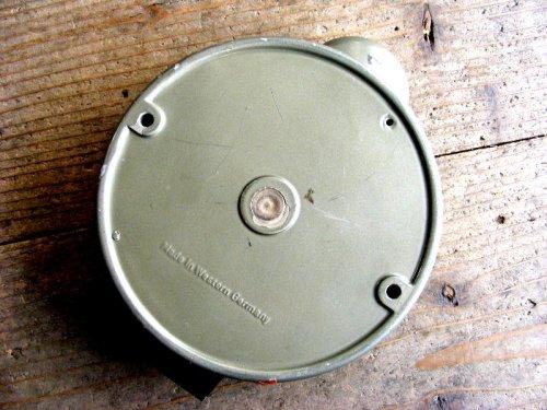 2: 1950年代・西ドイツ・KIENZLE APPARATE GMBH・キンツレー・インダストリアル・タコグラフ・クロック(電池式・クォーツ改造)