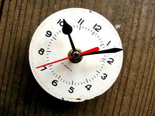 画像3: 1960年代頃・ロシア・バーインデックス・アンティーククロック・文字盤・掛時計・電池式・スイープ・クォーツ