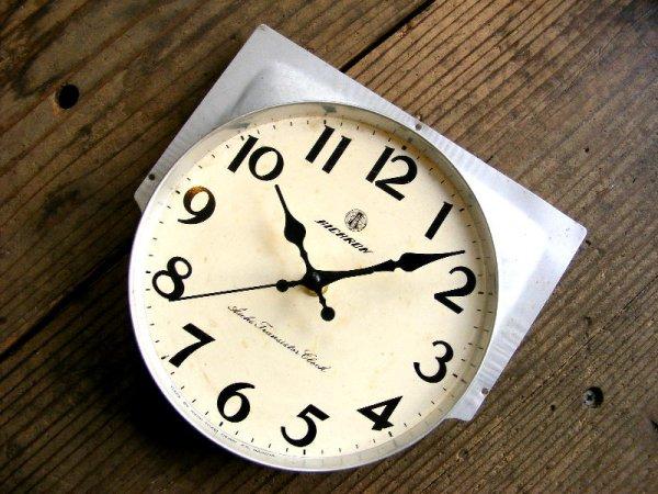 画像3: 昭和40年代頃・愛知時計・アイチロン・アンティーク・振り子時計・文字盤・掛時計(電池式・スイープ・クォーツ)