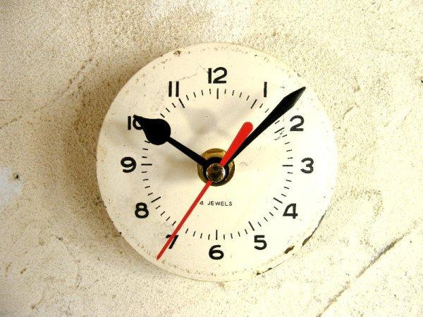 画像1: 1960年代頃・ロシア・バーインデックス・アンティーククロック・文字盤・掛時計・電池式・スイープ・クォーツ