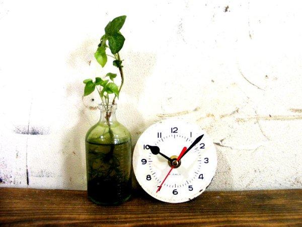 画像2: 1960年代頃・ロシア・バーインデックス・アンティーククロック・文字盤・掛時計・電池式・スイープ・クォーツ
