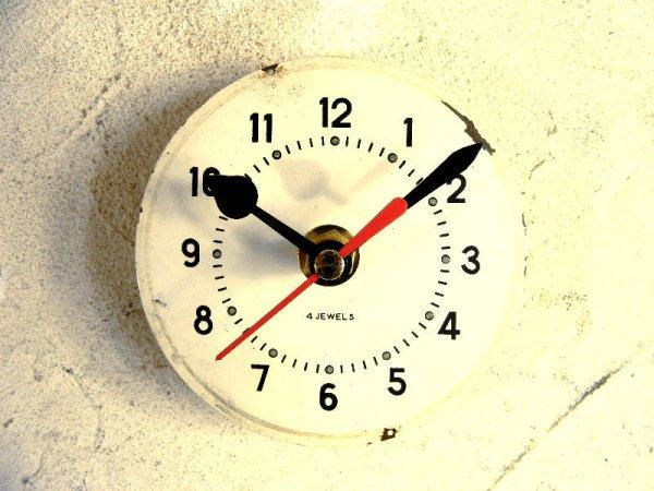 画像1: 1960年代頃・ロシア・VITYAZ・USSR・アンティーククロック・文字盤・掛時計・電池式・スイープ・クォーツ