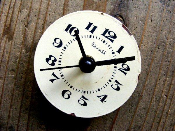 画像3: 1960年代頃・ロシア・Bume3b・アンティーククロック・文字盤・掛時計・電池式・スイープ・クォーツ