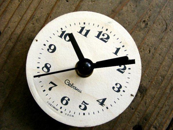 画像3: 1960年代頃・ロシア・Cebaru・アンティーク・クロック・文字盤・掛時計・スイープ・クォーツ