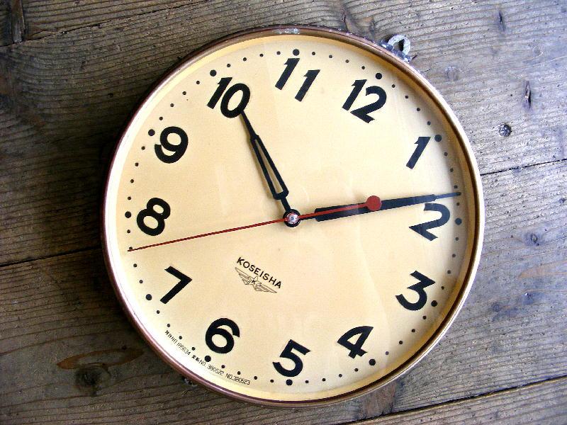 昭和30年代・光星舎・光星乾電池時計(電池式・スイープ・クォーツ改造)が仕上がりました。
